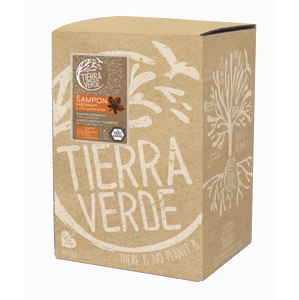 Tierra Verde Kaštanový šampon pro posílení vlasů s pomerančem (5 l)