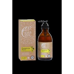 Tierra Verde Březový šampon na suché vlasy s citrónovou trávou (230 ml) dodá lesk a vitalitu