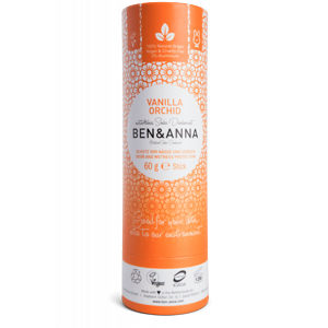 Ben & Anna Tuhý deodorant (60 g) - Vanilková orchidej - Sleva
