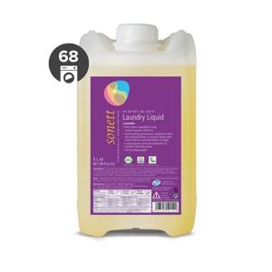 Sonett Univerzální tekutý prací gel na bílé i barevné prádlo BIO (5 l) - Sleva