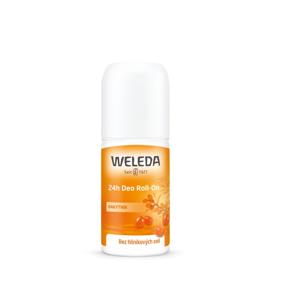 Weleda Deodorant roll-on 24h - rakytník (50 ml) bez solí hliníku