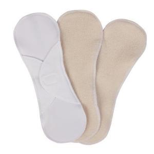 Bamboolik Látkové menstruační vložky z biobavlny - suchý zip (3 ks) s certifikátem gots