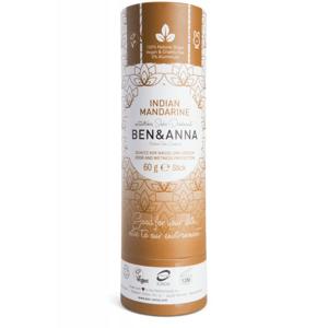 Ben & Anna Tuhý deodorant (60 g) - Indická mandarinka - Sleva