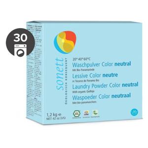 Sonett Prací prášek na barevné prádlo Sensitive BIO (1,2 kg) - Sleva