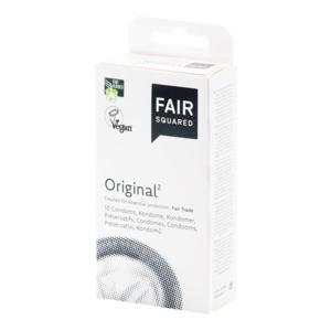 Fair Squared Kondom Original (10 ks) - Sleva
