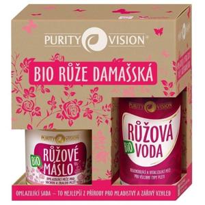 Purity Vision Omlazující sada s damašskou růží BIO mládí pro tělo i tvář