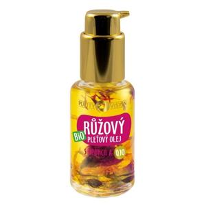 Purity Vision Růžový pleťový olej BIO (45 ml) s opuncií a koenzymem q10