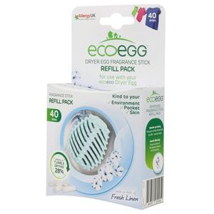 Ecoegg Náplň do vajíčka na sušení prádla - svěží bavlna (4 ks) na 40 cyklů sušení