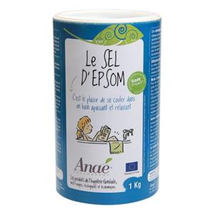 Anaé by Ecodis Epsomská sůl (dóza 1 kg) - Sleva