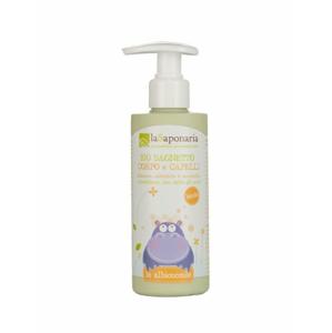 laSaponaria Jemný tělový a vlasový mycí gel pro děti BIO (190 ml) - Sleva