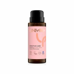 OnlyBio Zklidňující micelární voda pro citlivou pleť Sensitive Care (300 ml) s konopným olejem a levany