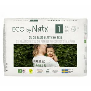 Naty Ekoplenky pro novorozence 1 (2 - 5 kg) (25 ks) - Sleva