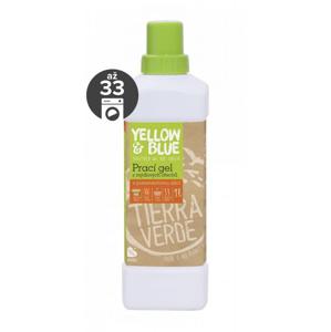 Yellow&Blue Prací gel s pomerančem (1 l) z bio mýdlových ořechů