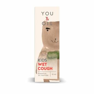 You & Oil KIDS Bioaktivní směs pro děti - Vlhký kašel (10 ml) - Sleva