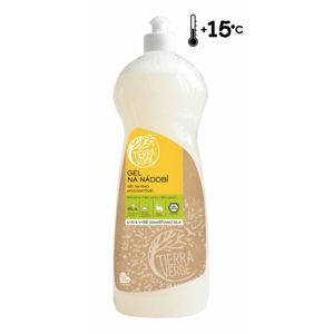 Tierra Verde Gel na nádobí s BIO citronovou silicí (1 l) o 70 % účinnější receptura