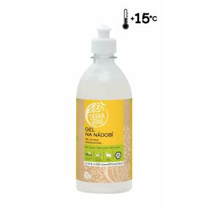 Tierra Verde Gel na nádobí s BIO citronovou silicí (500 ml) o 70 % účinnější receptura