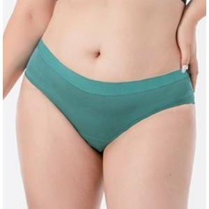 Pinke Welle Menstruační kalhotky Bikiny azurové - slabá a střední menstruace (L)