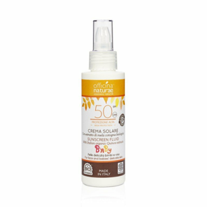 Officina Naturae Opalovací krém bez parfemace SPF 50 BIO (100 ml)