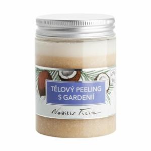 Nobilis Tilia Tělový peeling s gardenií BIO (100 ml) luxusní péče s exotickou vůní