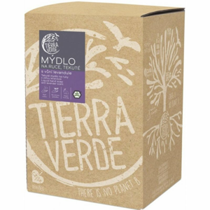 Tierra Verde Tekuté mýdlo na ruce s vůní levandule (5 l) - Sleva