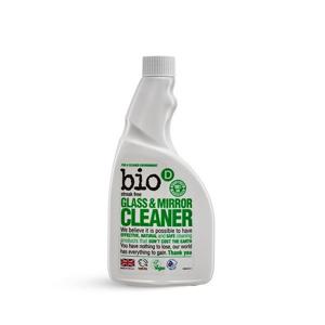 Bio-D Čistič na sklo a zrcadla (500 ml) - náhradní náplň pro dokonale čistá okna a zrcadla
