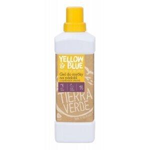 Yellow & Blue Gel do myčky z mýdlových ořechů 1 l z mýdlových ořechů v bio kvalitě