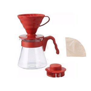 Hario sada Pour Over KIt - červená