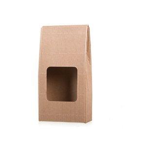 Dárková krabice na kávu s okýnkem