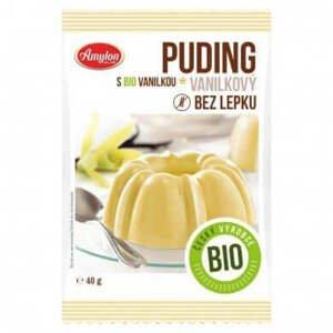 Amylon Puding vanilkový bezlepkový BIO 40 g