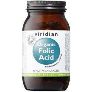 Viridian Organic Folic Acid 90 kapslí