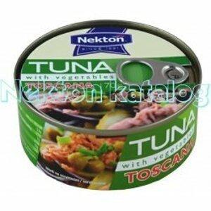 Nekton Tuňák kousky se zeleninou TOSCANA 170 g