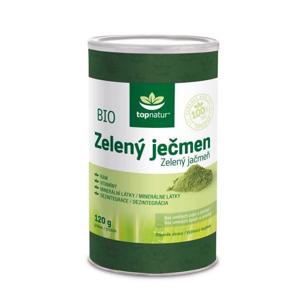 Topnatur Zelený ječmen prášek BIO 120 g
