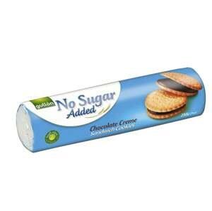 Gullón Sandwich sušenky plněné čokoládovým krémem bez přidaného cukru, se sladidly 250 g
