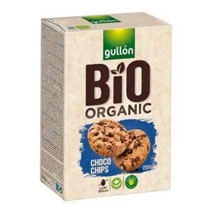 Gullón BIO Choco chip sušenky s čokoládovými kousky 250 g
