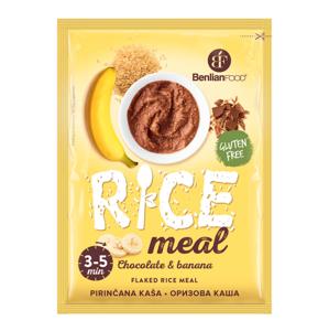 BenlianFood Rice meal čokoláda & banán 60 g