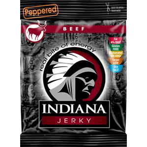Indiana Jerky hovězí Peppered 100 g