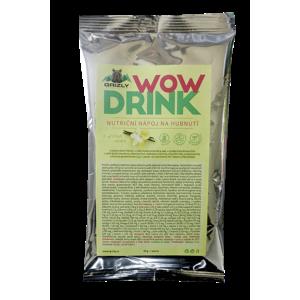 GRIZLY Wow Drink - Nutriční nápoj na hubnutí vanilkový 50 g