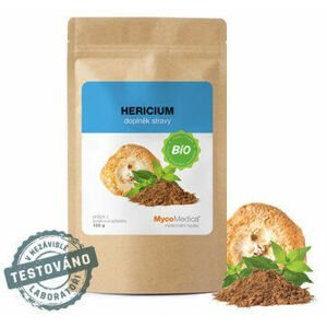 MycoMedica Hericium prášek Bio 100 g