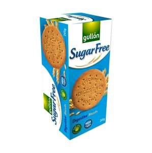 Gullón Celozrnné sušenky bez cukru, se sladidly Digestive 245 g