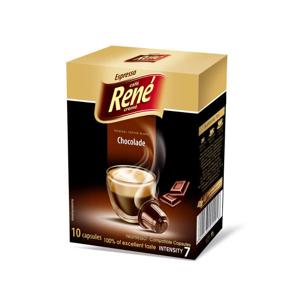 René káva s příchutí Chocolate 10 kapslí