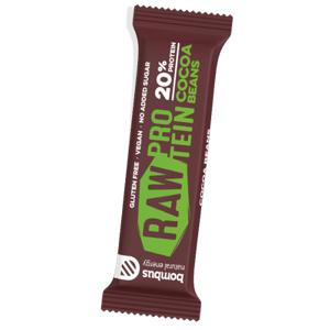 Bombus RAW Protein kakao a kakaové boby 50 g