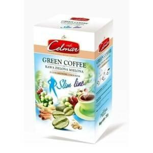 Celmar green mletá zelená káva 250 g ginger