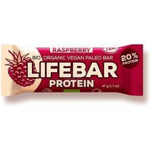 Lifefood Lifebar Protein Malinová BIO RAW 47 g