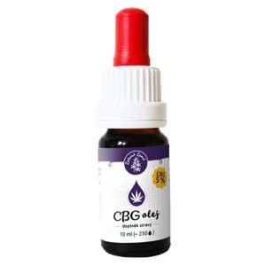 Zelená země CBG Konopný olej 5% 10 ml