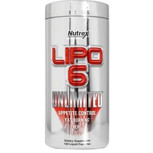Nutrex Lipo 6 Unlimited 120 kapslí