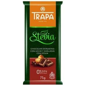 Trapa Čokoláda mléčná s drcenými jádry lísk.ořechů 75 g
