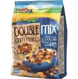 Bonavita Double mix cereální lupínky CF a Cocoa crunch 500 g