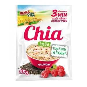Bonavita Chia kaše ovesná s malinami 65 g