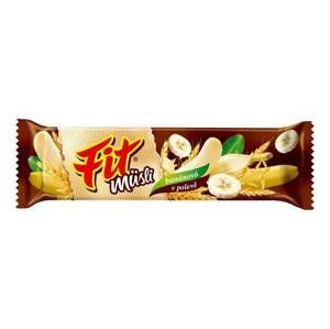 Fit Musli banánová v polevě 30 g
