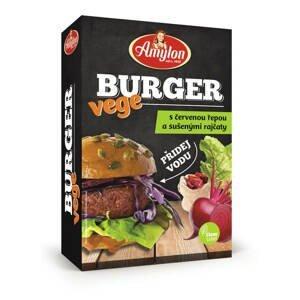Amylon Vege Burger s červenou řepou a sušenými rajčaty 125 g
